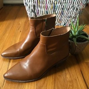 Women's Madewell Charley Boot in Leather